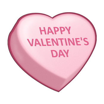 conversation heart vector. Candy hearts png