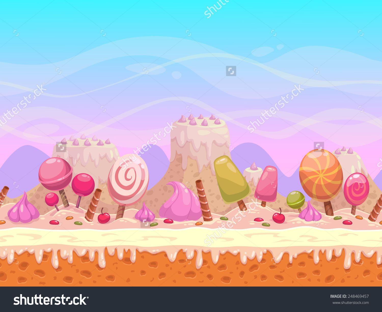 Candyland background