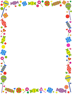 Candy wonderful website there. Candyland clipart border