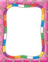 Borders candy land computer. Candyland clipart border
