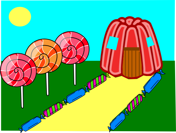 Land clipart. Candy clip art at