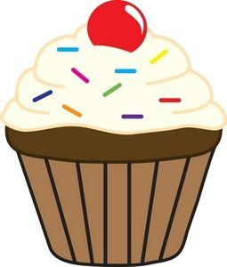 Google image result for. Desserts clipart cupcake