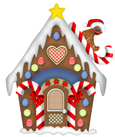 Christmas Candyland Clipart.Candyland Clipart Gingerbread House Candyland Gingerbread