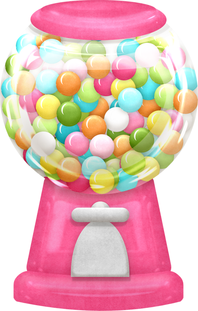 Clipart car candy. Bubblegummachine maryfran png gumball