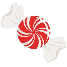 Candyland clipart peppermint. Paper shapes circle die
