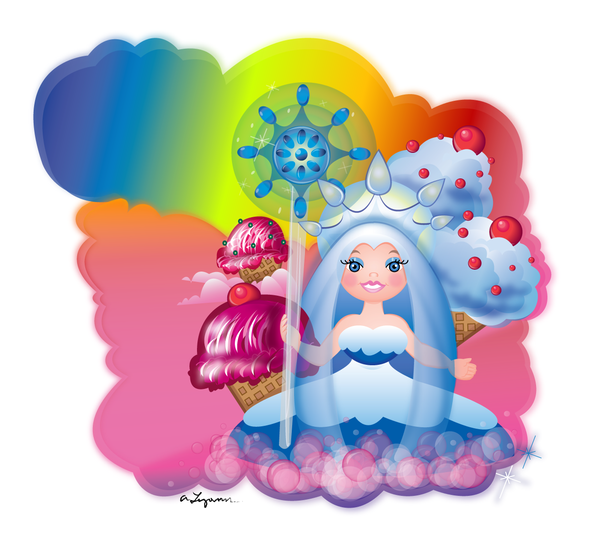 collection of princess. Candyland clipart queen frostine