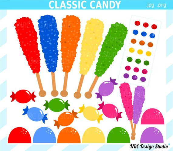 Candyland rock candy