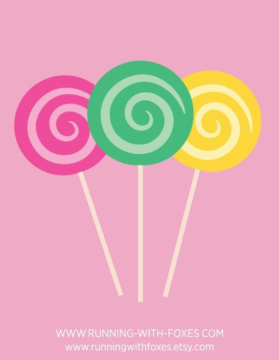Lollipop clipart swirl lollipop. Lollipops clip art cute