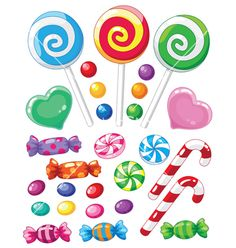Clip art classic sweet. Candyland clipart vector
