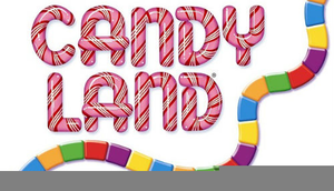 Candyland clipart vector. Free board game images