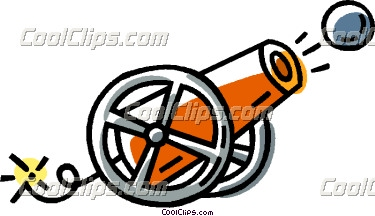 Cannon clipart. Panda free images
