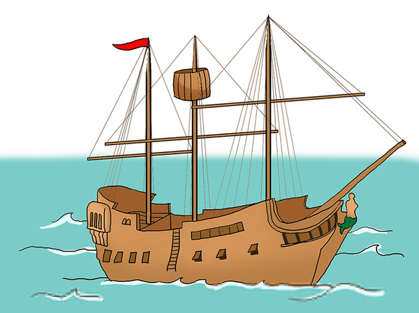 Pirate free images at. Cannon clipart ship