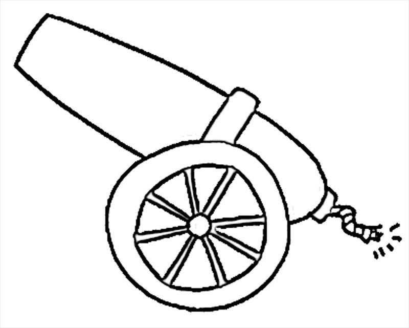 Cannon clipart sketch. Drawing at getdrawings com