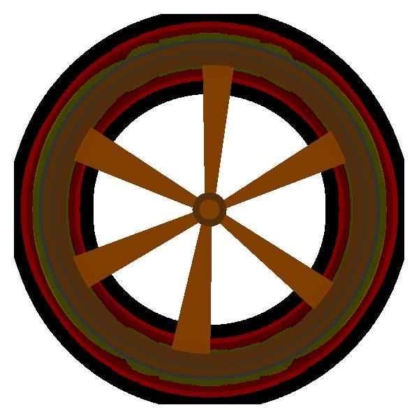 Wheel clipart circle thing. Wagon clip art at