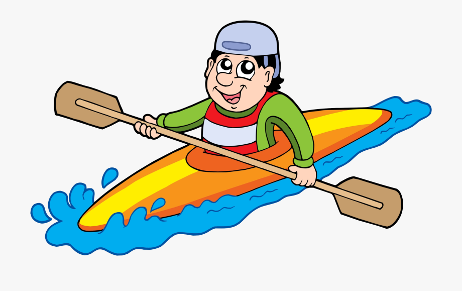 Latest clip art people. Kayak clipart canoe trip