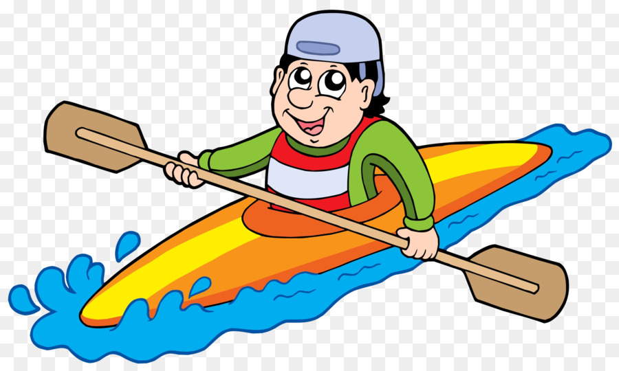 Boating clipart kayak. Canoe clip art people