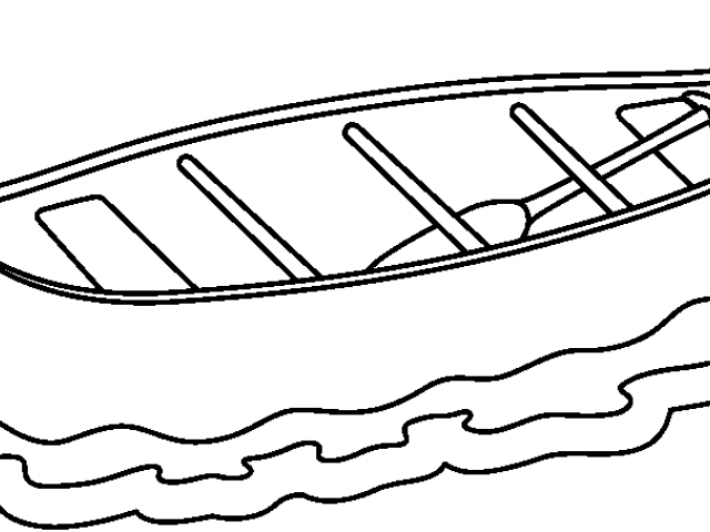 Canoe clipart outline. Free download clip art