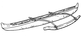 Drawing at getdrawings com. Canoe clipart outline