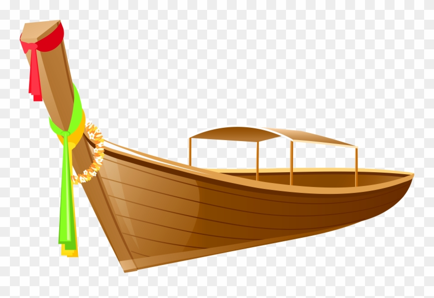 Canoe clipart skiff. Boat in thailand png
