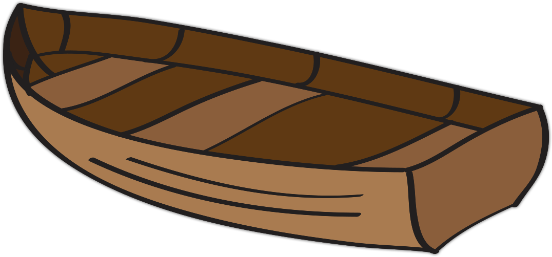 clipart boat wood #64132831
