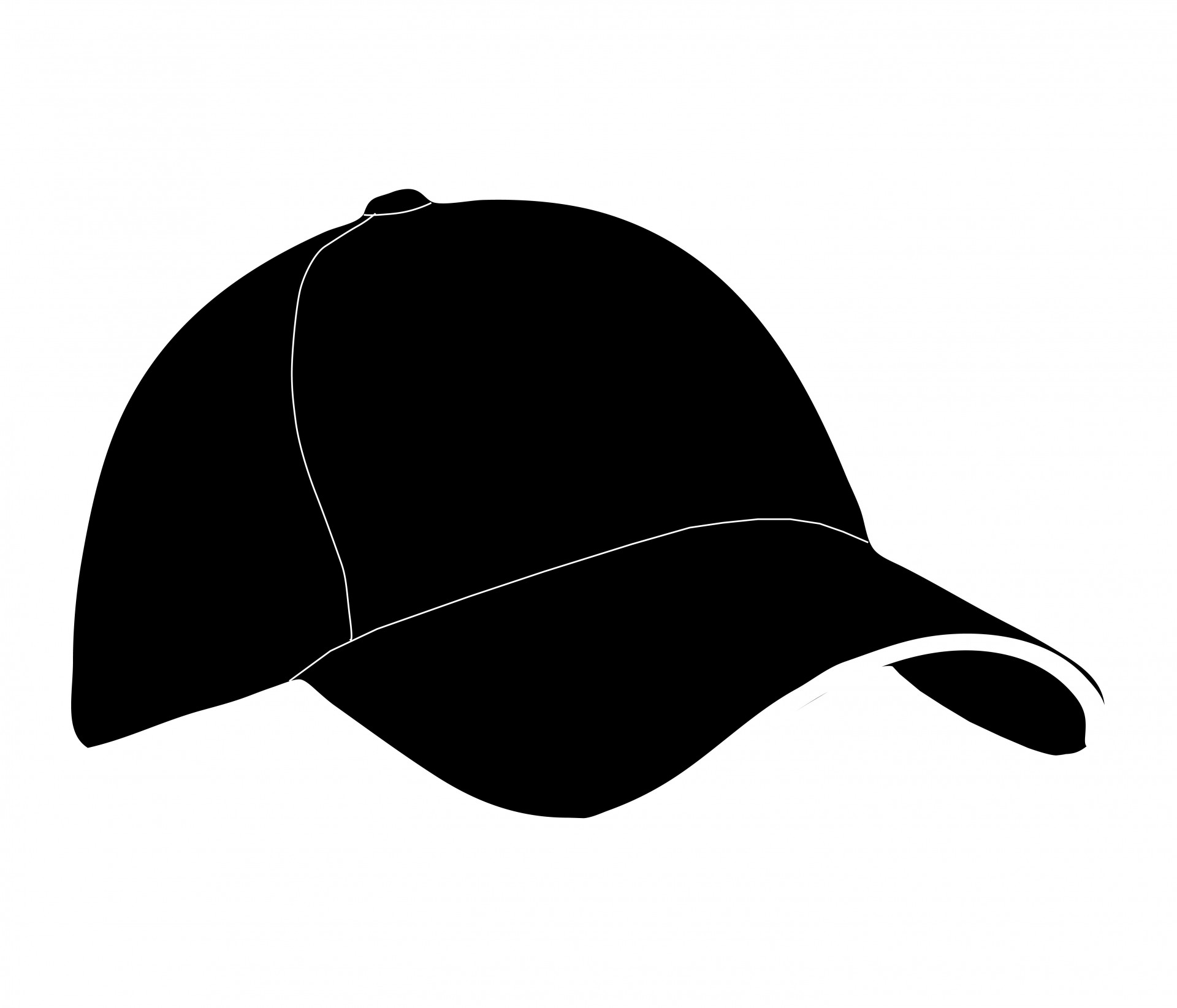 Baseball free stock photo. Hat clipart