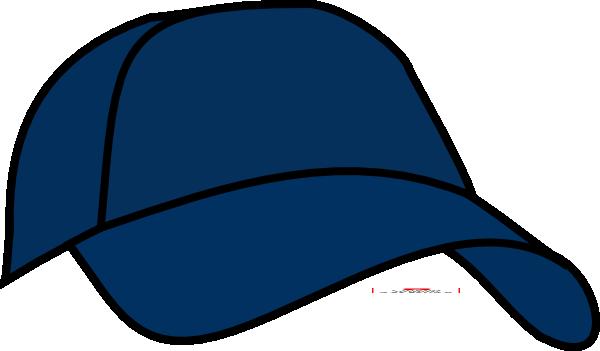 Blue clip art at. Cap clipart