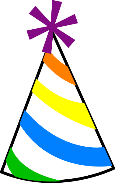 Clipart birthday hat. Free download clip art