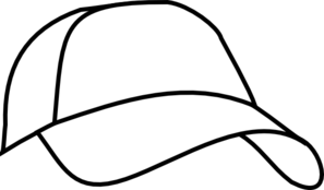 Free hat cliparts download. Cap clipart black and white