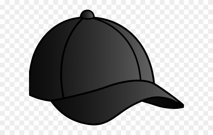 Nike black png download. Cap clipart cartoon baseball