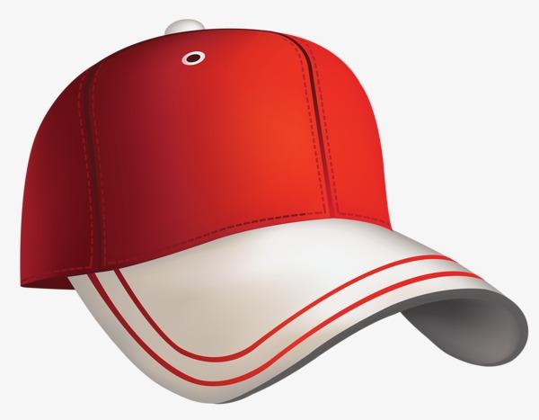 Cap clipart cartoon baseball. Hat red png image