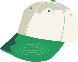 Clip art at clker. Cap clipart cartoon baseball