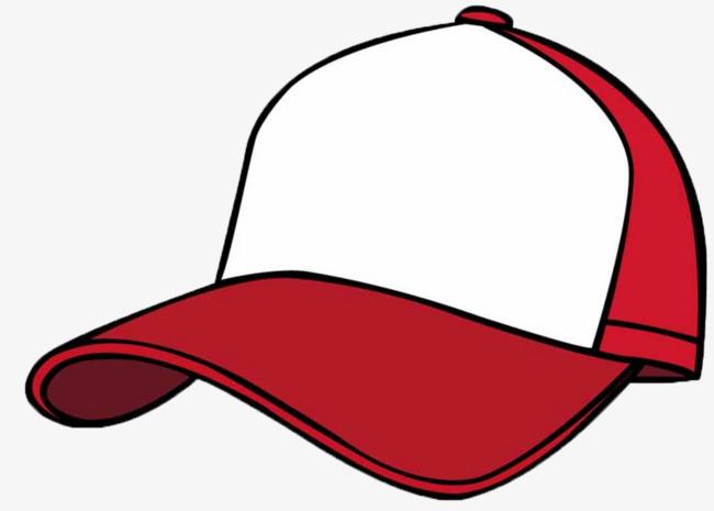 Cap cartoon baseball