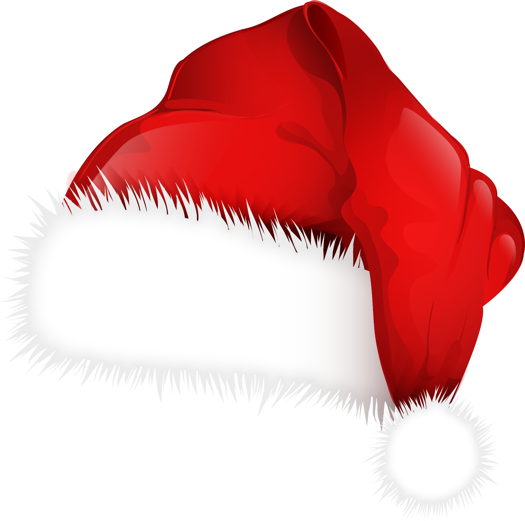Christmas png images why. Clipart hat santas