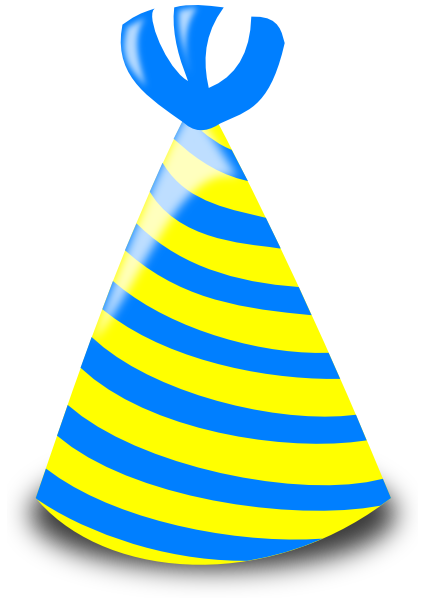 Cap clipart clear background. Birthday hat images transparent