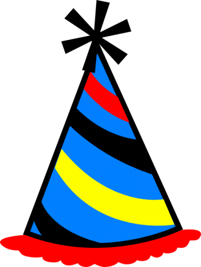 Cap clipart clear background. Download birthday hat free