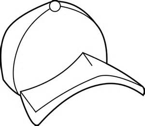 Coloring page book hat. Cap clipart colouring