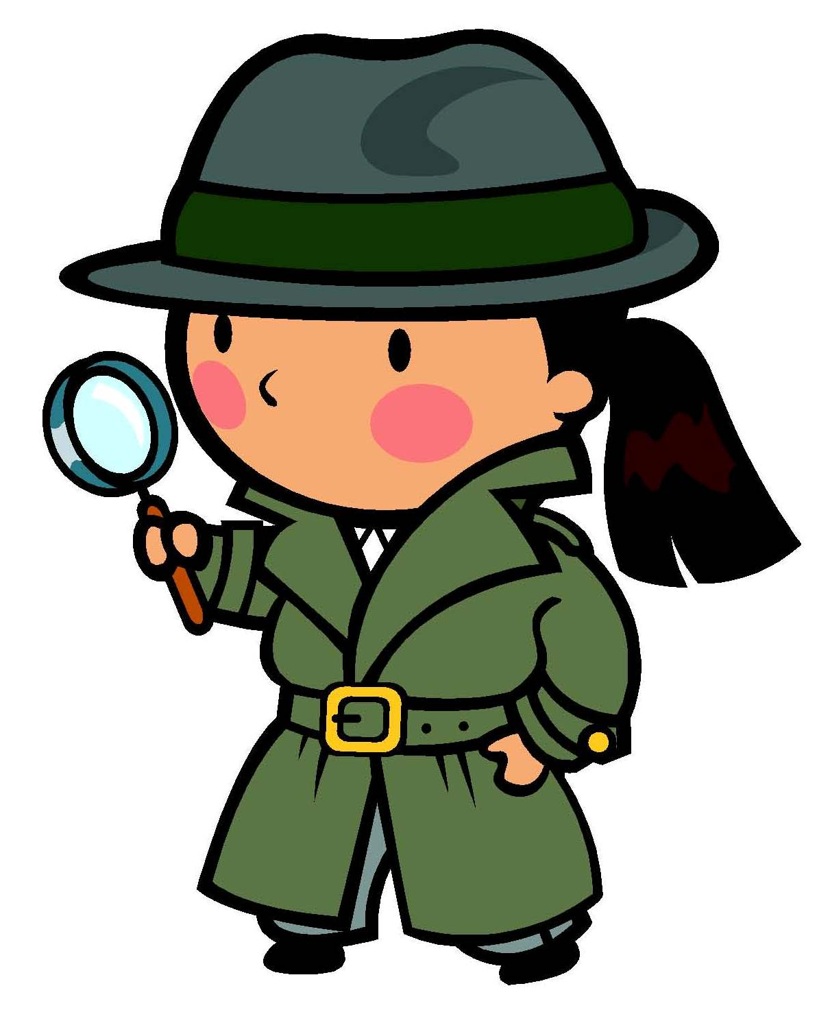 Cap clipart detective. Panda free images kiddetectiveclipart