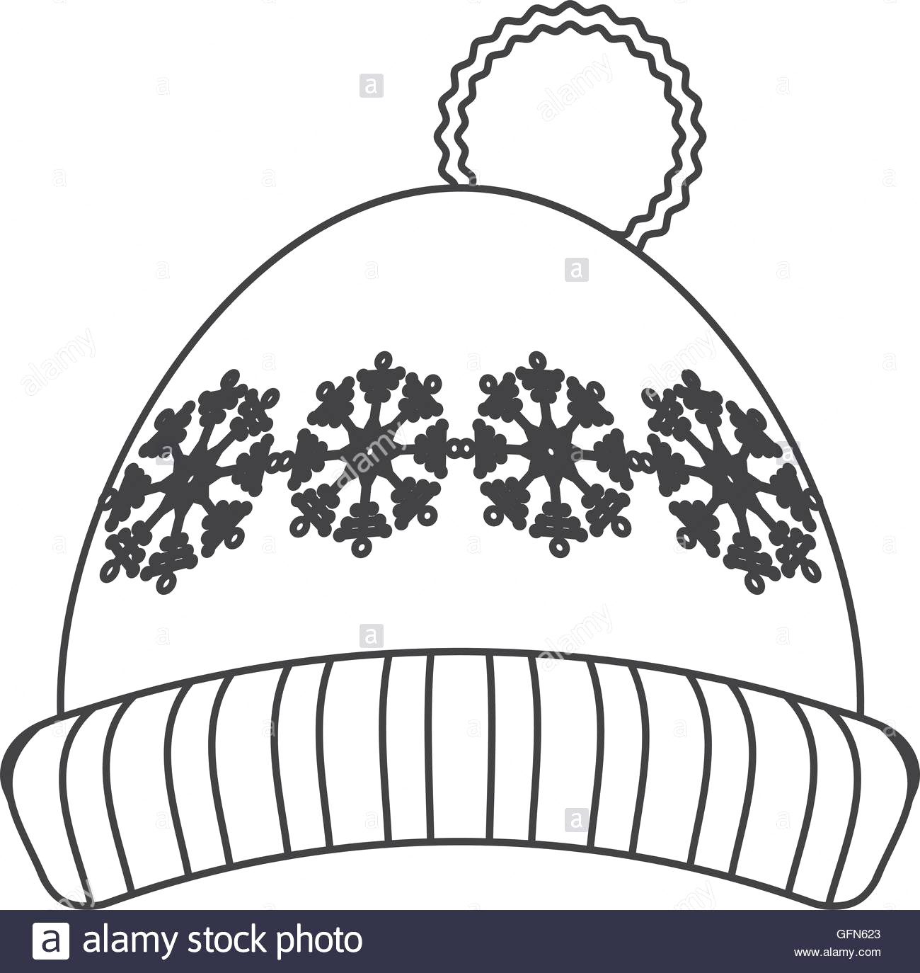 Cap clipart drawing. Winter hat rescuedesk me