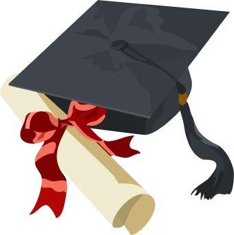 Diploma clipart grad cap. Graduation and gown