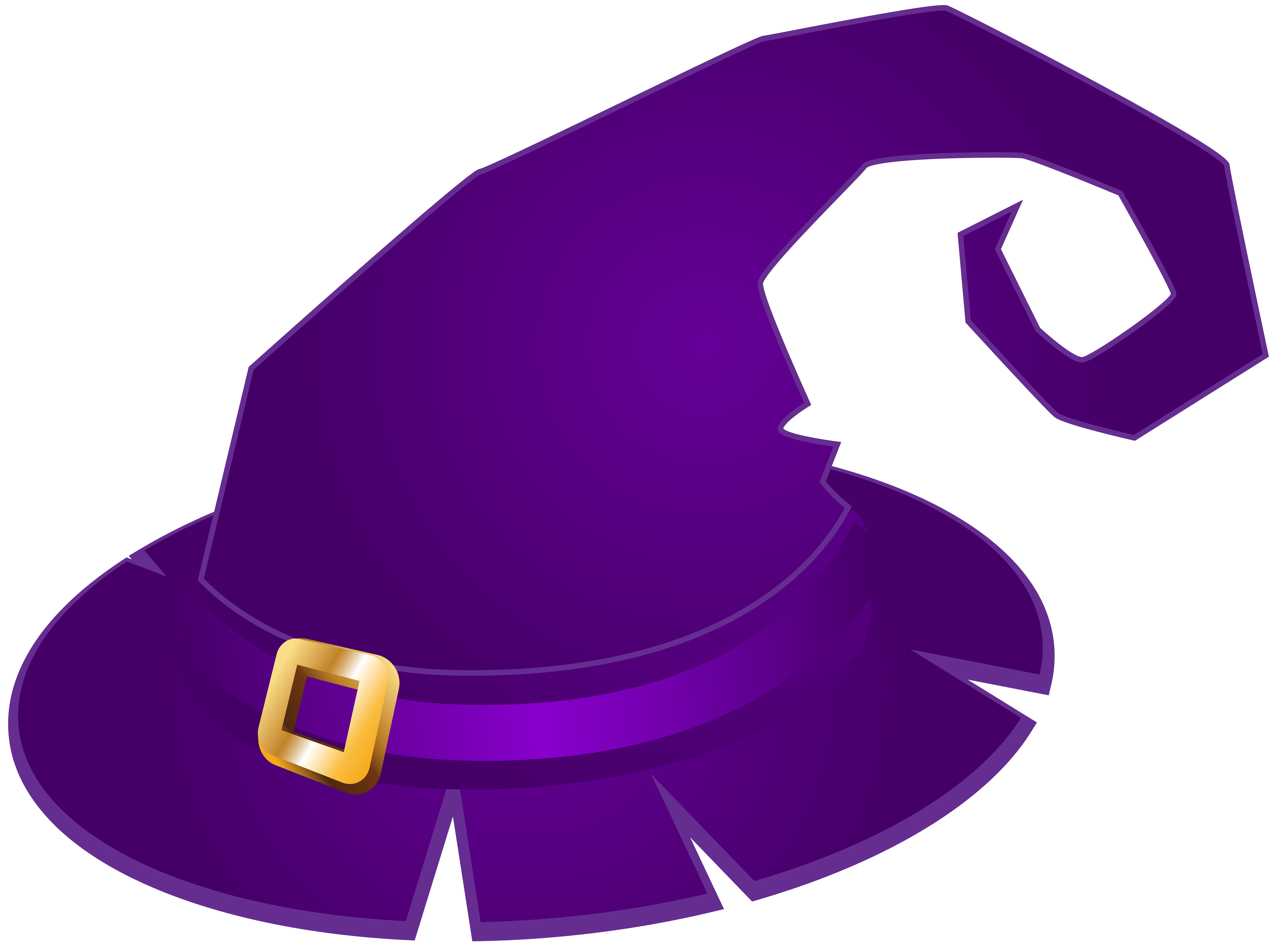 Clipart halloween purple. Witch hat transparent png