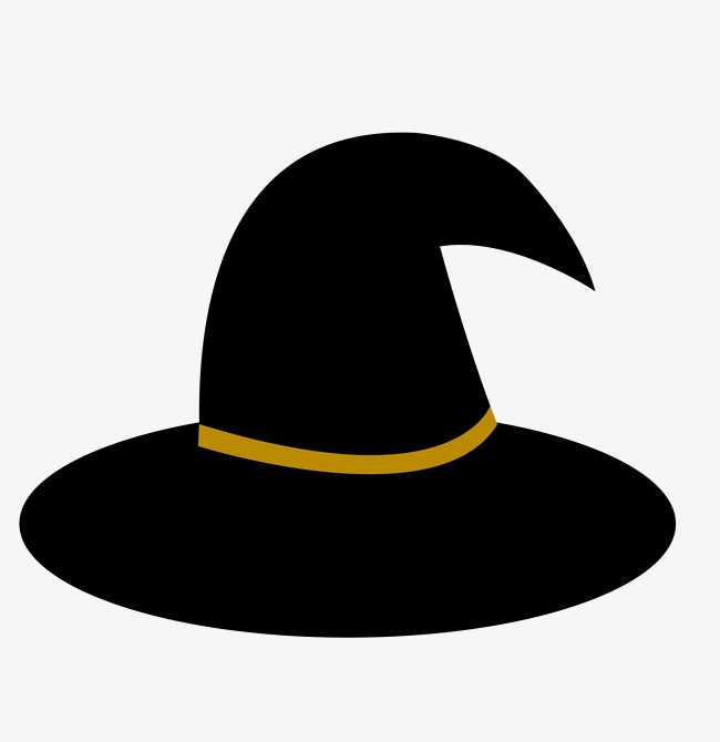 Cap clipart halloween. Hat png image and
