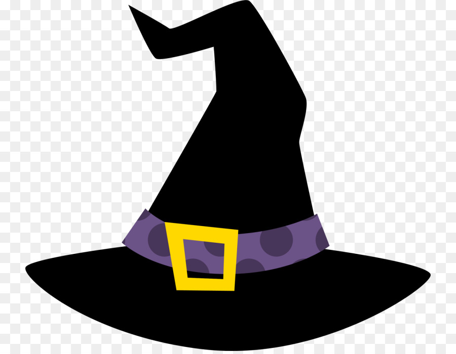 Cap clipart halloween. Witch hat