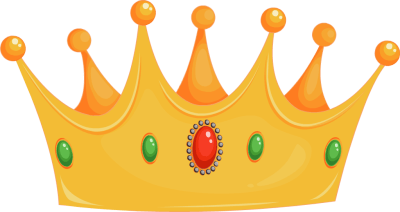 Gold hats cliparts license. King clipart cap
