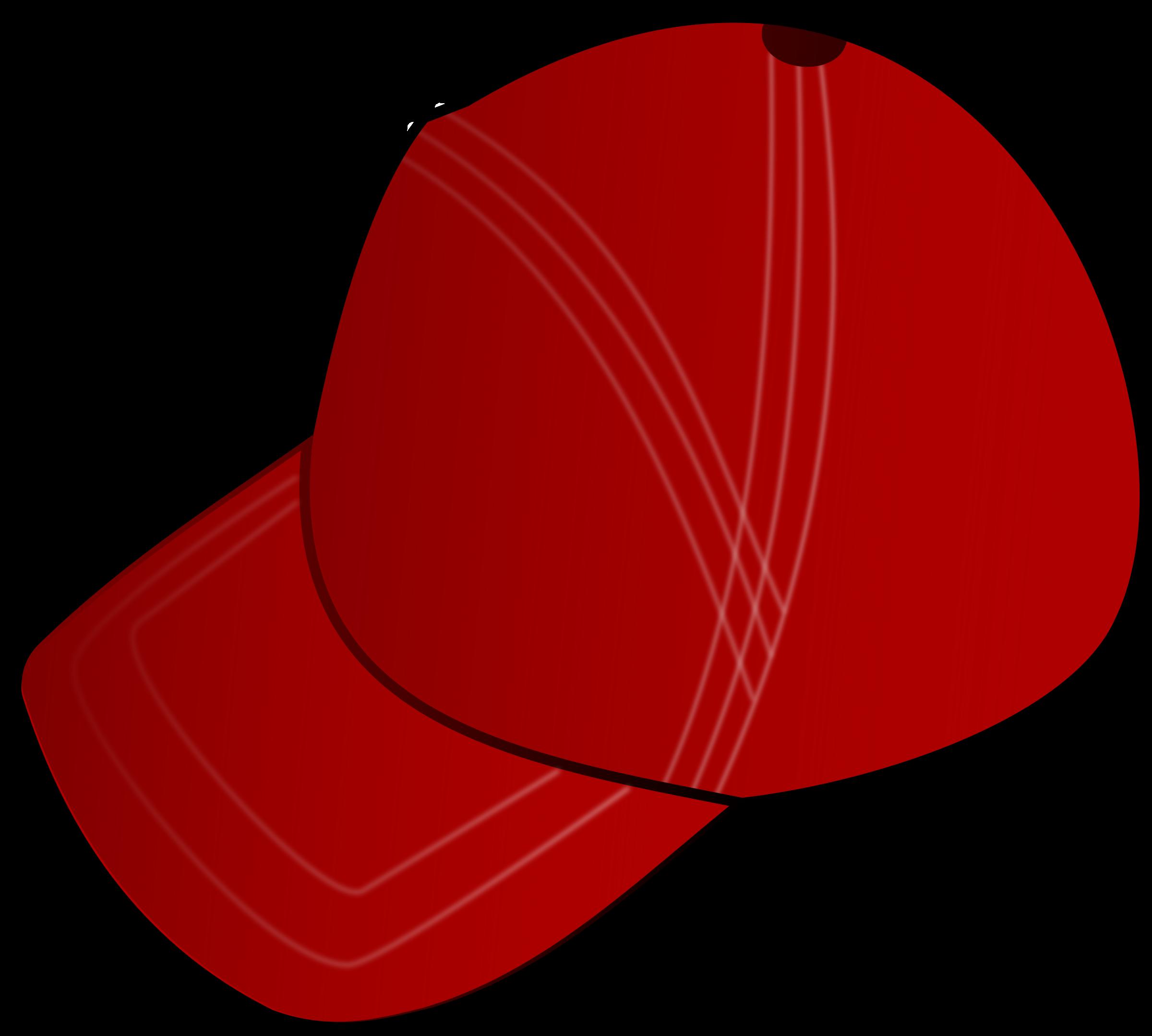 Red cap big image. Clipart rat hat clipart