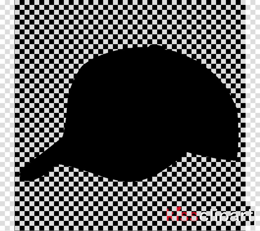 Cap clipart silhouette. Hat cartoon clothing transparent