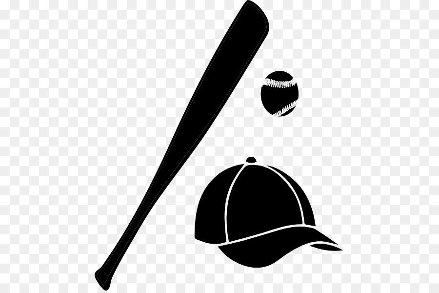 Cap clipart silhouette. Baseball bat clip art