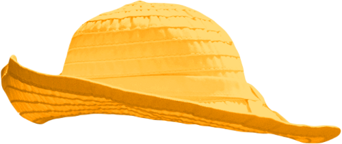 Yellow by clipartcotttage on. Cap clipart sun hat