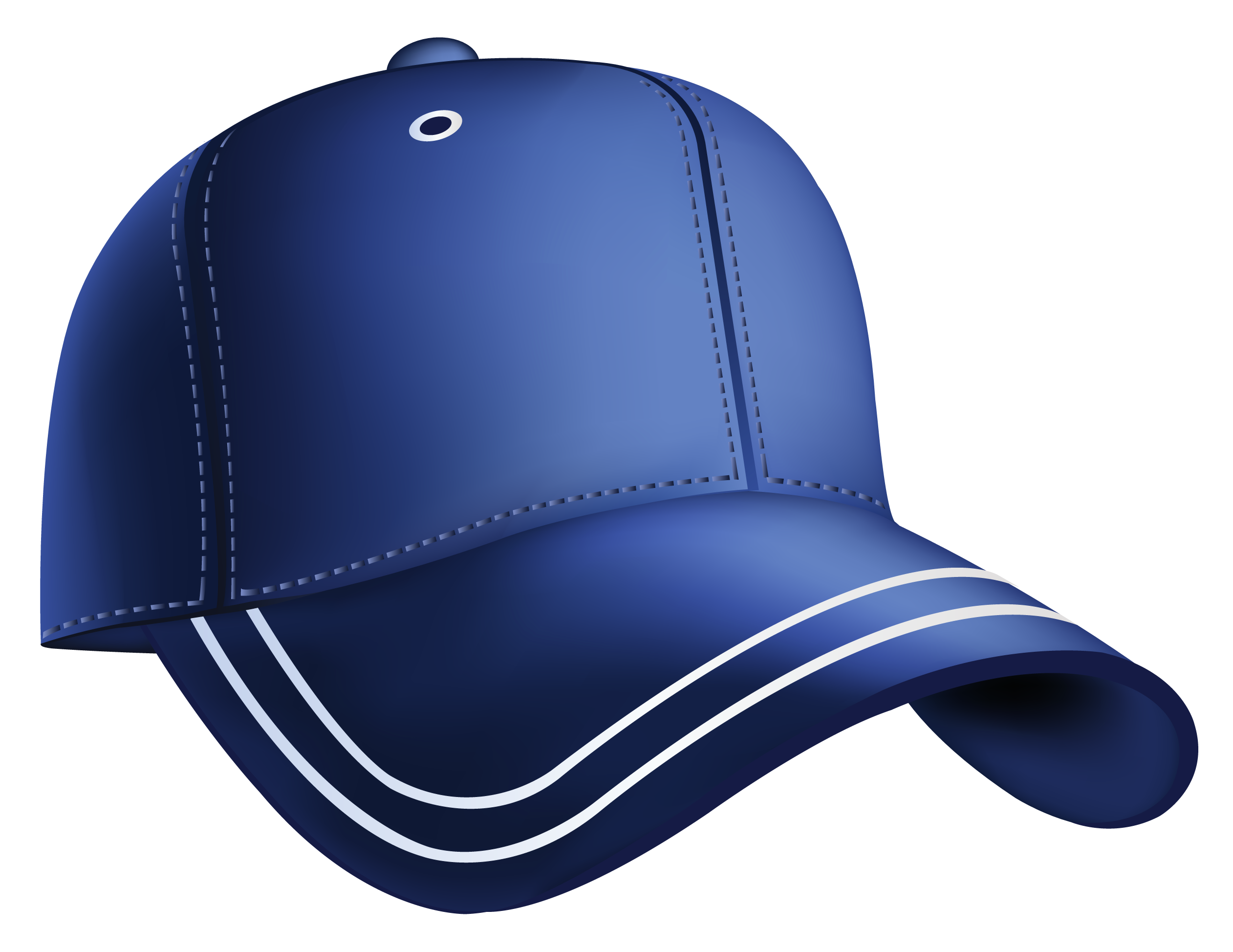 Blue baseball cap gallery. Hats clipart dodger