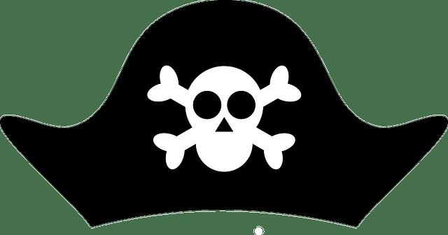 Pirate hat png stickpng. Cap clipart transparent background