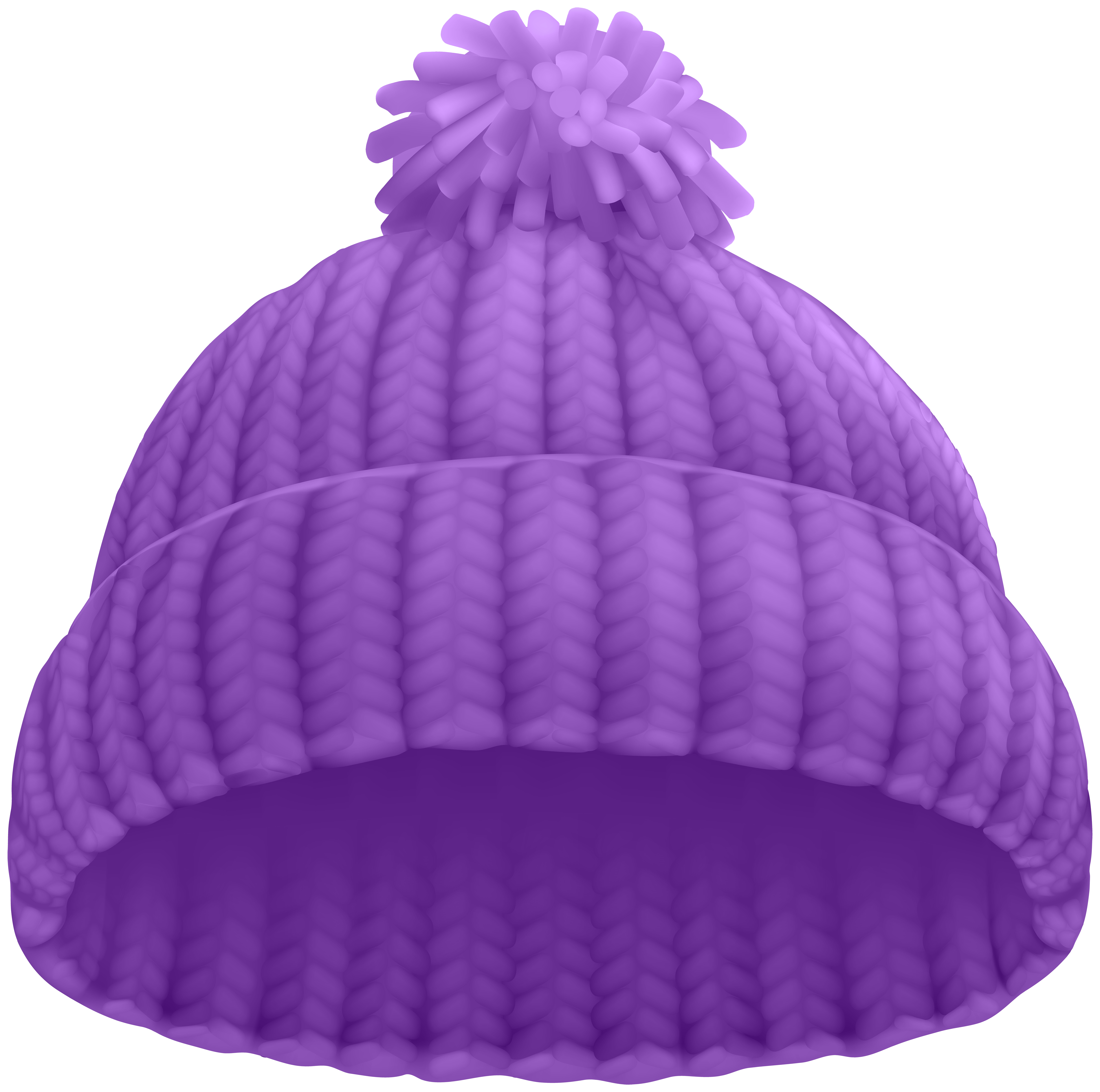 Purple winter hat png. Mittens clipart beanie